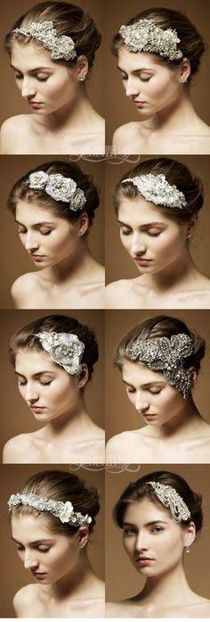 Super Ideas For Diy Wedding Dress Bling Hair Accessories Wedding Hair And Makeup, Bridal Makeup, Bridal Hair, Hair Makeup, Hair Wedding, Diy Wedding Dress, Blue Wedding Dresses, Wedding Ideas, Diy Dress