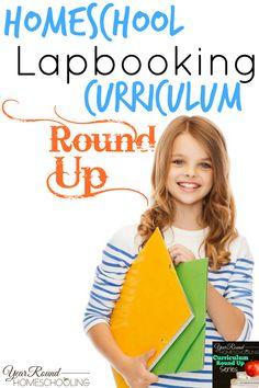 Homeschool Lapbooking Curriculum Round Up - Year Round Homeschooling Curriculum Planning, Preschool Curriculum, Kindergarten, Home Learning, Learning Resources, Homeschooling Resources, Interactive Learning, Home Schooling, Elementary Schools