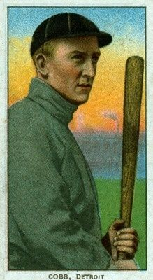 Detroit Tigers - Ty Cobb - Baseball Card