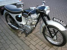 Lovely example of a Triumph T20 199cc Tiger Cub.
