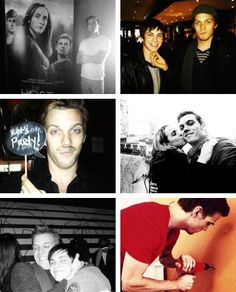 Jake Abel + Personal Photos + Logan Lerman.