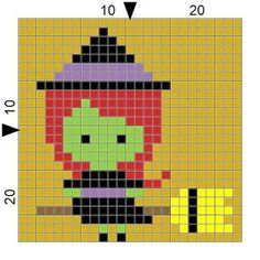 SPRE: Patterns & Design: Crochet Witchie-Poo Block
