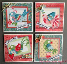 Anita's creaties: Kleine kerstkaartjes