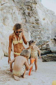 Beach Club - Barefoot Blonde by Amber Fillerup Clark Beach Mom, Beach Pink, Beach Club, High Cut Bikini, Bikini Set, Bikini Swimsuit, Bikini Floral, Amber Fillerup, Barefoot Blonde