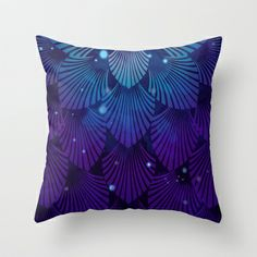 Variations on a Feather III - Raven Wing Deconstructed Throw Pillow by TotalBabyCakes - $20.00