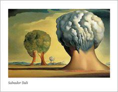 Salvador Dalí - Les trois sphinx de bikini