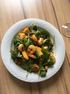 papaya-shrimps-lettuce Secret Recipe, Kung Pao Chicken, Lettuce, Shrimp, Meat, Ethnic Recipes, Food, Essen, Meals