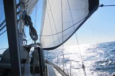 I keep having this dream that I'm on a Westsail 32 sailboat...
