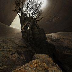 "PARALLEL WORLDS by Michał Karcz ""Karezoid"" on Digital Art Served"
