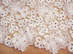 lace fabric white lace fabric bridal lace by WeddingbySophie