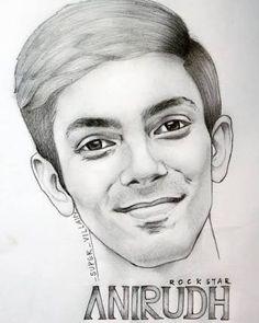 Anirudh Ravichander Drawing