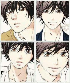 Ao Haru Ride | Mabuchi Kou Manga Anime, Manga Boy, Anime Art, Anime Boys, Studio Ghibli, Futaba Y Kou, Tanaka Kou, Best Romance Anime, Ao Haru