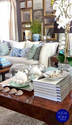 FOCAL POINT STYLING: RENTAL ReSTYLE: LIVING ROOM SUMMER REMIX + STYLE TIPS
