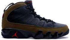 9c98c5ccd57225 Jordan 9 Retro Olive (2002)