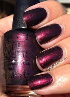 OPI Muir Muir On The Wall - another of the San Francisco collection