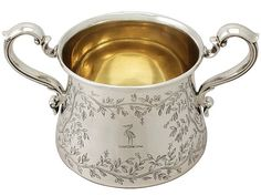 Sterling Silver Sugar Bowl - Antique George VI SKU: A4336 Price GBP £595.00…
