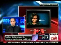 Como van las campañas de Barack Obama y Mitt Romney ? El estratega político J.J. Rendón da una visión de lo que sucede y podría suceder (02.11.12 - CNN).