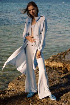 StefaniaVaidani Spring/Summer 18- Karpathos Collection Karpathos, Jil Sander, Business Fashion, Milan, 18th, Duster Coat, Spring Summer, Jackets, Collection