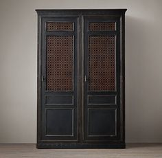 1900s French Metal Bank Double Entry Locker