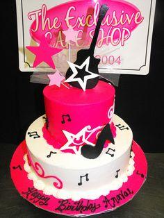 Rock Star Cake Pinteres