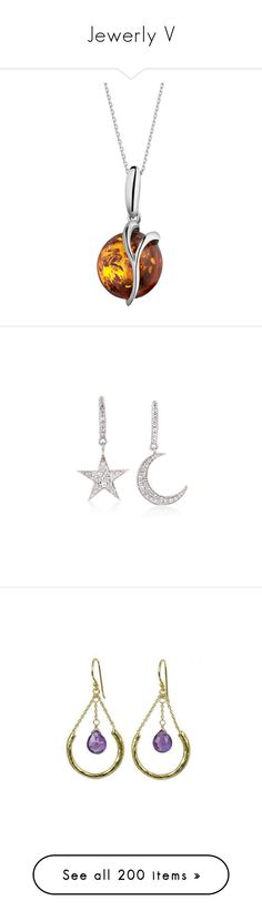 """""""Jewerly V"""" by lucyheartyui on Polyvore featuring jewelry, earrings, white, white topaz jewelry, star drop earrings, white jewelry, ross simons earrings, star jewelry, clothing & accessories i dangle"""