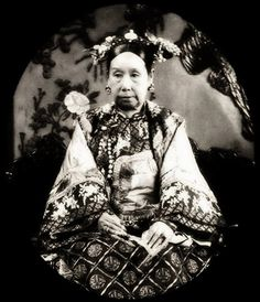 """From """"Ten Mistresses Who Changes History"""" - The Chinese Empress Cixi.  Kind of a badass."""