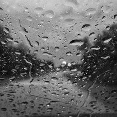 Raindrops on window.....