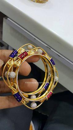 Gold Designer Square Shaped Bangles, Square Bangles in Gold, Gold Square Bangles Designs. Gold Bangle Bracelet, Diamond Bangle, Diamond Jewelry, Gold Ring Designs, Gold Bangles Design, Indian Jewellery Design, Jewelry Design, Gold Gold, Necklace Designs