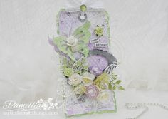 My Little Craft Things: Crafty Cardmakers and More - #134 - For a Special Woman