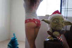 sweetsweetoilsee#Panties #Yoda #StarWars #Christmas #XMas
