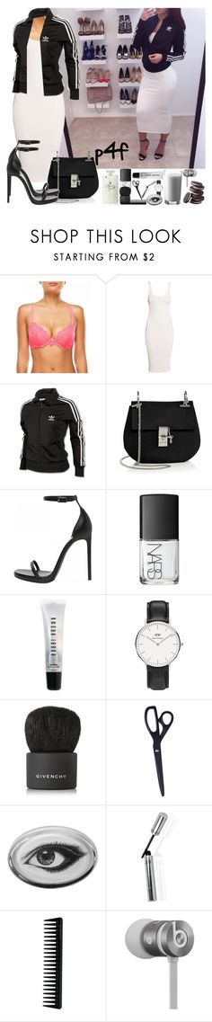 """""""Passion 4Fashion: It Doesn't End Here"""" by shygurl1 ❤ liked on Polyvore featuring adidas, H&M, Chloé, Yves Saint Laurent, NARS Cosmetics, Bobbi Brown Cosmetics, Daniel Wellington, Givenchy, HAY and Rory Dobner"""