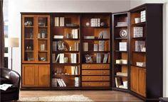 Tuscan Corner Bookcase Set - 4 Piece Tuscan Brown- Ballard Designs ...