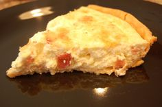 Swiss and Bacon Quiche