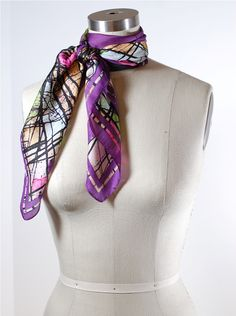 How to Tie a Scarf: Double Wrap French Knot