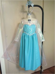 elsa dress tutorial | Elsa's Coronation Dress (Multi-Step) Tutorial from ...