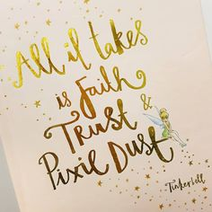 """25 Likes, 7 Comments - Teething Jewellery/Accessories (@mummysbubble) on Instagram: """"▪️FAIRY INSPO▪️ all it really does take is Faith, Trust and Pixie dust. Love this quote and so…"""""""