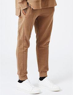 TOPMAN AAA slim cotton-jersey jogging bottoms