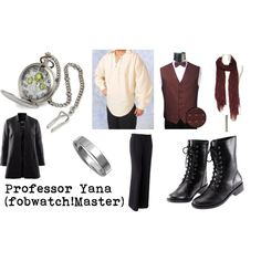 """Professor Yana"" by doctorwhodressing on Polyvore"