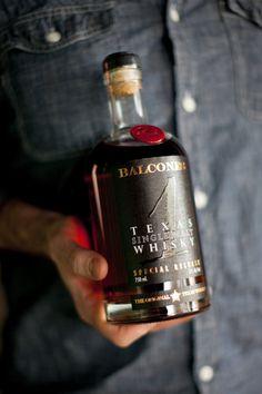 Balcones Texas  single malt whiskey.
