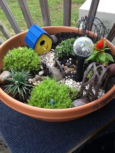lowes fairy garden containers miniature gardens - Lowes Garden Supplies