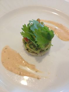 Silversea Crab meat and advocado starters,