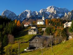 Village, Kamnik–Savinja, Slovenia