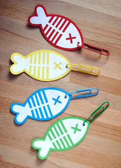 For learning the letter f… Make fishing poles with paperclips as hooks and try to hook the fish