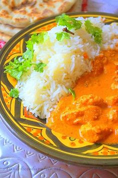 Chicken Recipe Indian (Butter chicken) · To delight the palate Indian Butter Chicken, Indian Food Recipes, Ethnic Recipes, Zucchini, Thai Red Curry, Chicken Recipes, Sauce Tomate, Eat, Cooking
