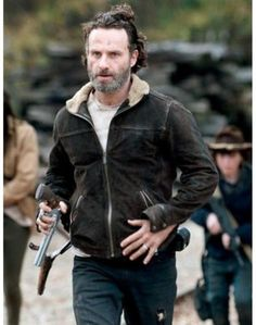 The Popular TV Series The Walking Dead Season 4 Jacket now available in our online shop. The Fur collar jacket has worn by Andrew Lincoln as Rick Grime. Shop now the stylish jacket at discounted price.