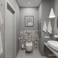 Дизайн квартиры в серых тонах. Ванная Bathroom Designs Images, Bathroom Vanity Designs, Design Your Own Bathroom, Bathroom Interior Design, Ada Bathroom, Small Bathroom, Small Toilet Room, Downstairs Toilet, Bathroom Inspiration
