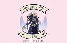 Fight like a girl: Diana