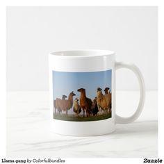 Llama gang coffee mug