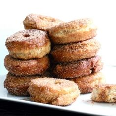 Farmstand Buttermilk Doughnuts - Guaranteed that you will need to bolt the doors and hide these delicious treats.