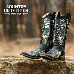 Country Outfitter Corral boots...